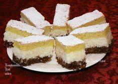 Receptek, és hasznos cikkek oldala: Kókuszkrémes csoda süti Coco, Cheesecake, France, Romanian Recipes, Cheesecakes, Cherry Cheesecake Shooters