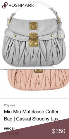 Vintage Miu Miu Leather Purse Tote   My Posh Picks by Becca Alexis    Pinterest   Miu miu purse, Leather purses and Miu miu 7d1bc2634d