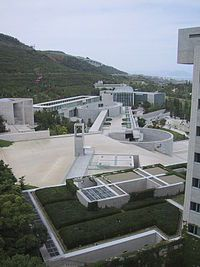 AXIS: axis juxtaposition is a way of inventing problems and then solving them beautifully Masterplan Architecture, Concrete Architecture, Space Architecture, Ancient Architecture, Sustainable Architecture, Residential Architecture, Tadao Ando, Awaji Island, Critical Regionalism