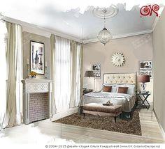 Интерьер гостевой спальни http://www.ok-interiordesign.ru/blog/dizayn-gostevoy-komnaty-v-kvartire-foto.html