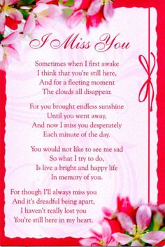 I Miss You Mother and Daddy ! Missing My Husband, Missing Loved Ones, Missing Family, Memorial Cards, Memorial Poems, Remembrance Poems, Memorial Plaques, Tu Me Manques, Miss You Mum