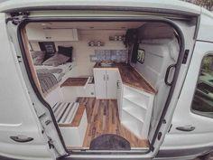 Motorhome, Kangoo Camper, Build A Camper Van, Van Home, Camper Van Conversion Diy, Van Interior, Camper Life, T4 Camper, Van Living