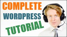 #Wordpress #tutorial complete step by step for beginners - 2016