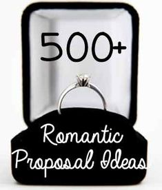 Hundreds of romantic marriage proposal ideas to help you create a unique, memorable, and romantic way to pop the question. - https://www.romancestuck.com/romantic-wedding-proposal.htm #RomanceStuck
