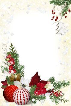 Christmas Frames, Noel Christmas, Christmas Paper, Christmas Pictures, Vintage Christmas, Christmas Ornaments, Free Christmas Borders, Christmas Templates, Christmas Clipart