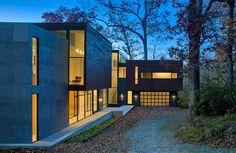Casa geométrica faz reverência à paisagem - Casa Vogue