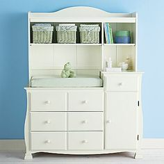 Savanna Bella Changing Table Or Hutch - Off White (offwhite)