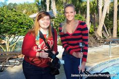 """Nocatee Video Production Interns that capture the footage for """"Nocatee TV"""" at the 2013 Nocatee Polar Plunge."""