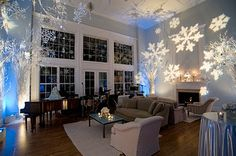 .: Winter Wonderland Party, planning my family annual party like this eek!