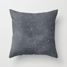 Ursa Major Throw Pillow by BELLES  GHOSTS© - $20.00