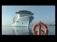 Watch: World's Most Technologically Advanced Ship- Anthem Of The Seas At Southampton