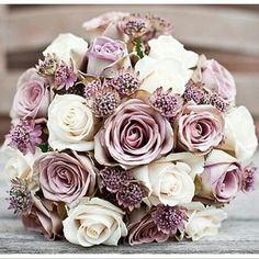Lovely – Wedding and party Mauve Wedding, Blush Pink Weddings, Rose Wedding, Floral Wedding, Wedding Colors, Dream Wedding, Bridal Flowers, Flower Bouquet Wedding, Bride Bouquets