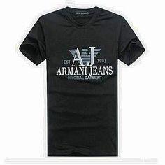 Vendre Pas Cher Homme Armani Tee Shirts H0056 En ligne En France.