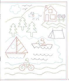 pregrafismo Kindergarten Math Worksheets, Preschool Education, Free Preschool, Worksheets For Kids, Montessori Activities, Motor Activities, Educational Activities, Activities For Kids, Pre Writing