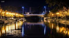 Timisoara noaptea ;) Marina Bay Sands, Romania, Great Places, Amazing, Travel, Viajes, Destinations, Traveling, Trips
