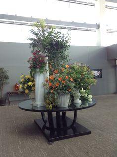 Entry flowers.