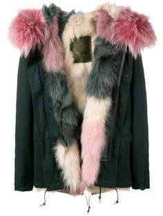Mr & Mrs Italy fur lining short parka