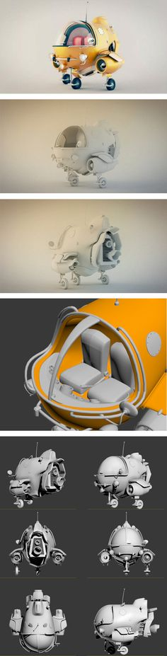 Nave espacial by Dummy 3D