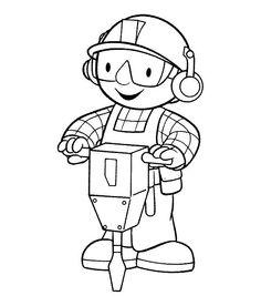 Bob The Builder Coloring | series cartoons bob the builder free coloring bob the builder