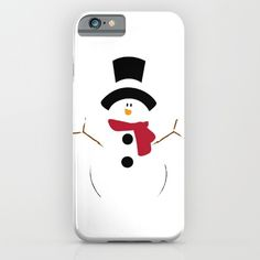 Christmas White Snowman - Protect your iPhone with a one-piece, impact resistant, flexible plastic hard case featuring an extremely slim profile. Simply snap the case onto your iPhone for solid protection and direct access to all device features.