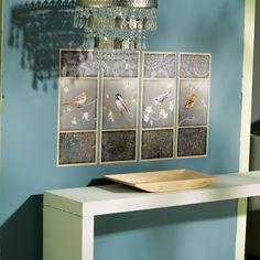 Produkten W13350 - Birds and Blossoms, Peel and Stick Wallies Wall Art finns hos Inreda.com
