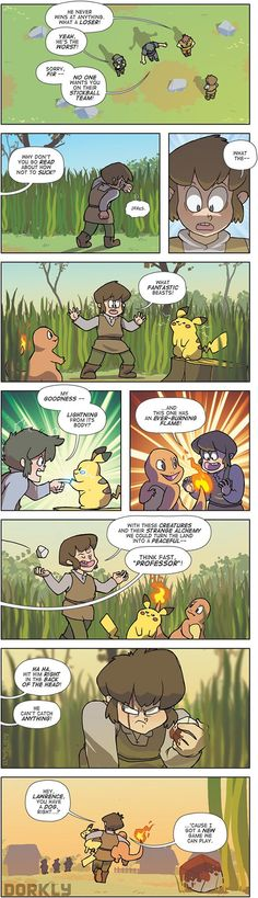 the origin of pokemon