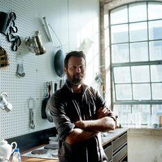 Jo Metson Scott photographs Martino Gamper for the B Store Magazine.