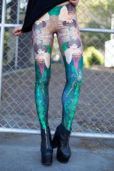 Mucha Emerald Leggings