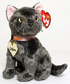 Arlene - Cat - Ty Beanie Babies. Interesting choice of name, given that Arlene is the cool pink cat from Garfield.  I always liked her even though she wasn't used much.