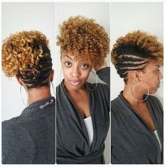 101 Natural Hair Updos For Long Hair & Short Natural hair updos photo gallery! VERY elegant black natural hairstyles for weddings, bridal parties & proms. If you want the perfect look for date night. Black Hair Updo Hairstyles, Natural Wedding Hairstyles, Natural Hair Updo, My Hairstyle, Natural Hair Care, Braided Hairstyles, Natural Hair Styles, Dreadlock Hairstyles, Hairstyle Ideas