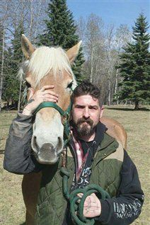 Horse therapy for veterans suffering from PTSD