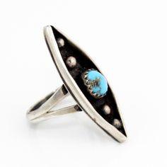 Turquoise Cosmic Ring >>