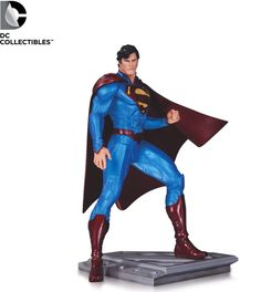 Pre-Order DC Comics Superman Man of Steel Cully Hamner Statue #fanboycollect