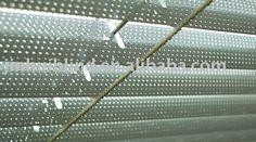 perforated aluminum blind