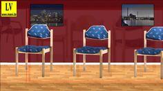Videos Wartezimmermöbel kaufen, Wartezimmerstühle,02Lehrmittel Vierkant