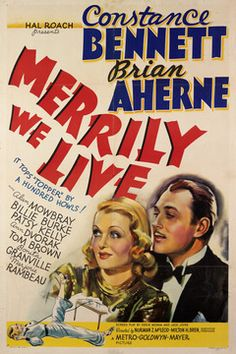 Merrily We Live (1938) The writing and acting - great!