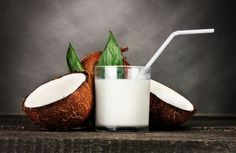 How To make Your Own Organic Coconut Milk At Home. Without BPA's. Coconut milk can be used to add some flavor to your coffee, smoothies and dishes, but is also great in many DIY cosmetics! Cheap, yummy and takes only a couple of minutes to make it yourself!