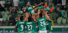 Keno dá show, e Palmeiras bate Botafogo no adeus de Zé Roberto ao Allianz...  2 x 0