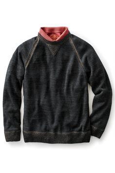 Peruvian Pima Cotton Crew Neck Sweater | Territory Ahead