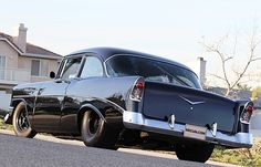Blacked out 50s Chevy- Sweet