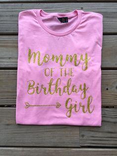 Mommy of the birthday girl shirt