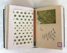 Tiny Happy sketchbook, from Anthology Magazine