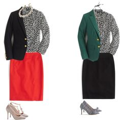 J.Crew Collection Secretary Bow Blouse in Dalmatian Print Fall 2015 by jsodders on Polyvore