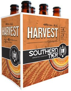 Southern Tier's Harvest is a 6.7 ABV Exra Special / Strong Bitter.  The appearance is copper, with a fresh spicy herbal citrus hop nose.  The taste is full of fall fruits and spice, giving way to that bitter citrusy hop finish.  Similar to the Southern Tier Pumking, this should be on your seasonal short list.  This has autumn written all over it.