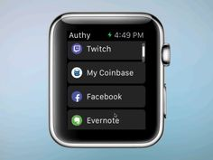 Two-factor auth for Apple watch - why the heck is there a mouse!?