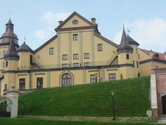 This Nesvizh castle which is in Belarus , in the town of Nesvizh. The history of the castle is very interesting and worth to see and visit,)))