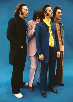 John, Paul, Ringo, and George