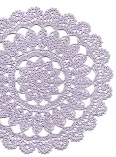 Hand crochet beautiful doily, made from crochet cotton. Diameter about 12 (30cm). Will be adorable decoration at your home, will look great on any