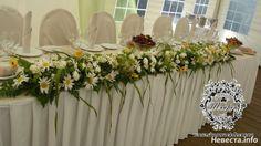 декор стола ромашковая свадьба Wreaths, Table Decorations, Furniture, Home Decor, Door Wreaths, Room Decor, Home Interior Design, Floral Arrangements, Flower Garlands