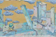 Mural art Illustration in Greece 1
